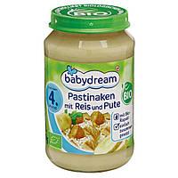 Babydream Bio Menü Pastinaken mit Reis & Pute - Пастернак с рисом и индейкой, с 4 месяца, 190 г