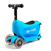 Самокат Micro Mini2go Blue Deluxe