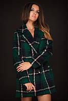 Пальто женское в клеточку кашемир 42,44,46
