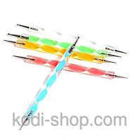 Инструмент для лепки,точек,художественных работ доттинг дотс - 5 шт.