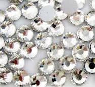 Камни SWAROVSKI ss 4 Crystal (50шт) прозрачные  шт № 4