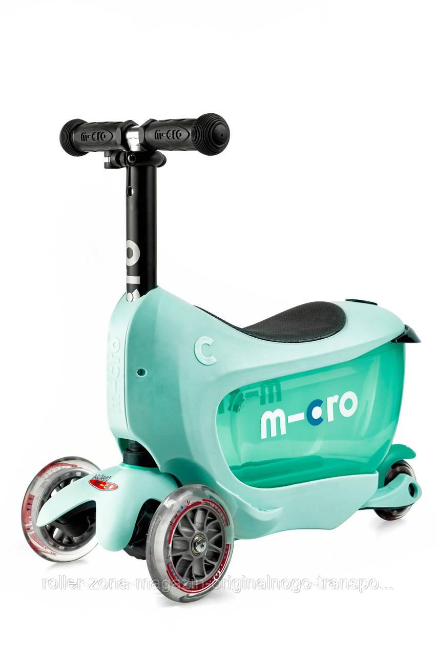 Самокат Micro Mini2go Mint Deluxe