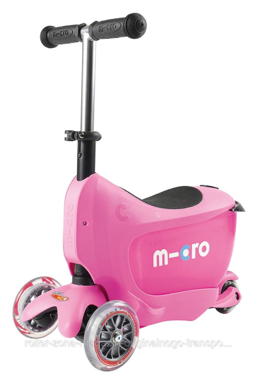 Самокат Micro Mini2go Pink Deluxe