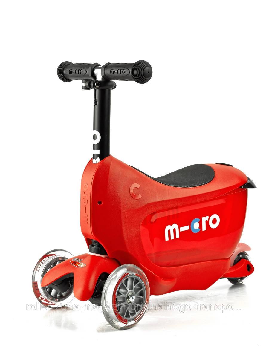 Самокат Micro Mini2go Red Deluxe
