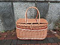 """Плетеная корзина для пикника """"Сумка"""""""