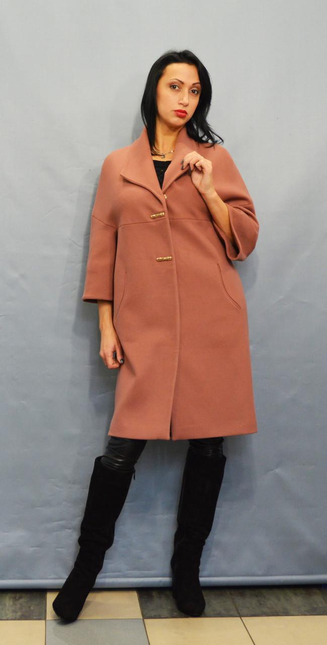 Пальто терракотовое Sassofono 509301