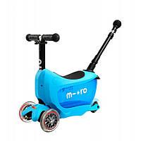 Самокат Micro Mini2go Blue Deluxe Plus, фото 1