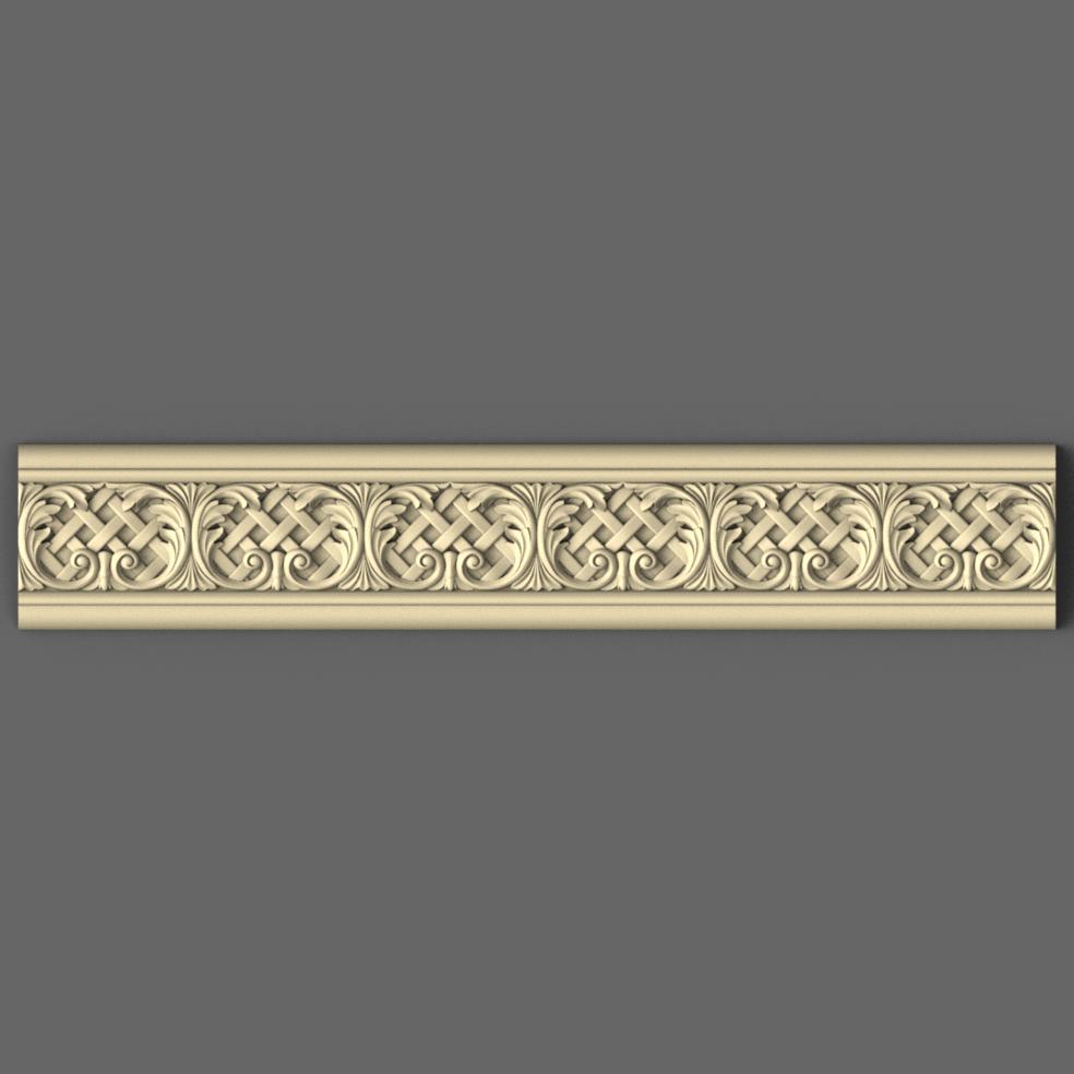 Профіль дерев'яний різьблений 80 мм