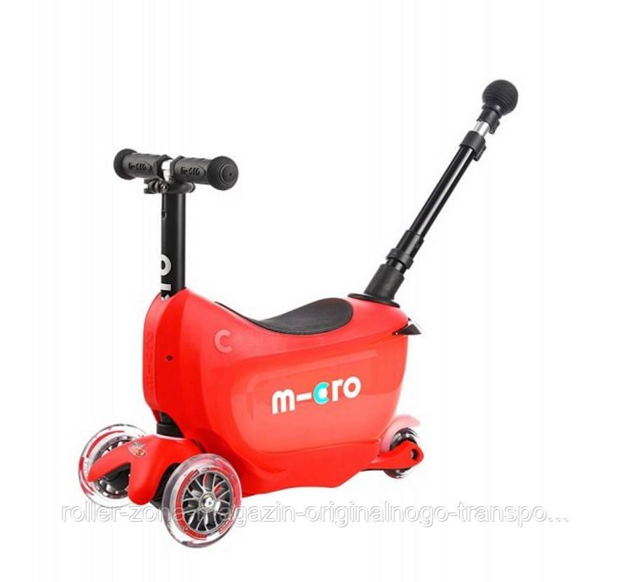 Самокат Micro Mini2go Red Deluxe Plus