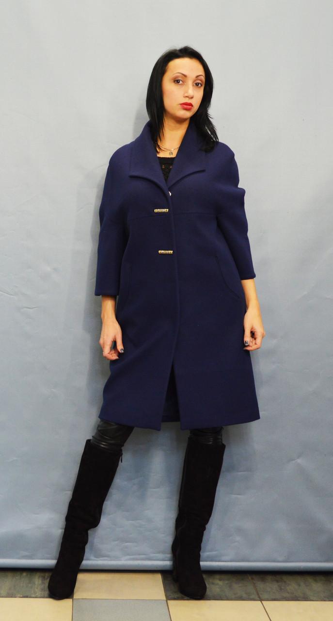 Пальто синее Sassofono 509301