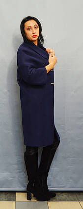 Пальто синее Sassofono 509301, фото 2