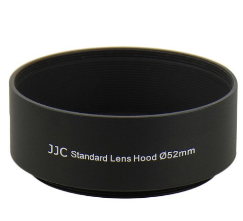 Бленда JJC LN-52S (Ø52mm Standard Lens Hood) Metal (for Canon)