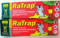 Средство клей RaTrap (Ра трап)135 г - не высыхающий клей для борьбы с грызунами и насекомыми