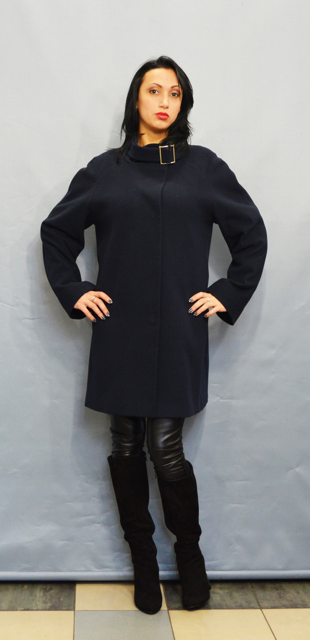 Пальто синее ICON 2846