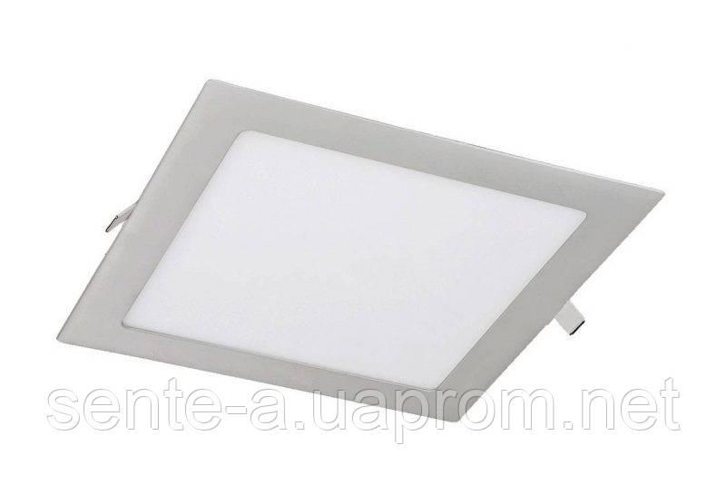 Светодиодный врезной светильник 39173 LED-S-120-6 6W 6400К квадратный белый IP20 Евросвет