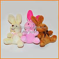 Игрушки брелки 7 см - зайчата