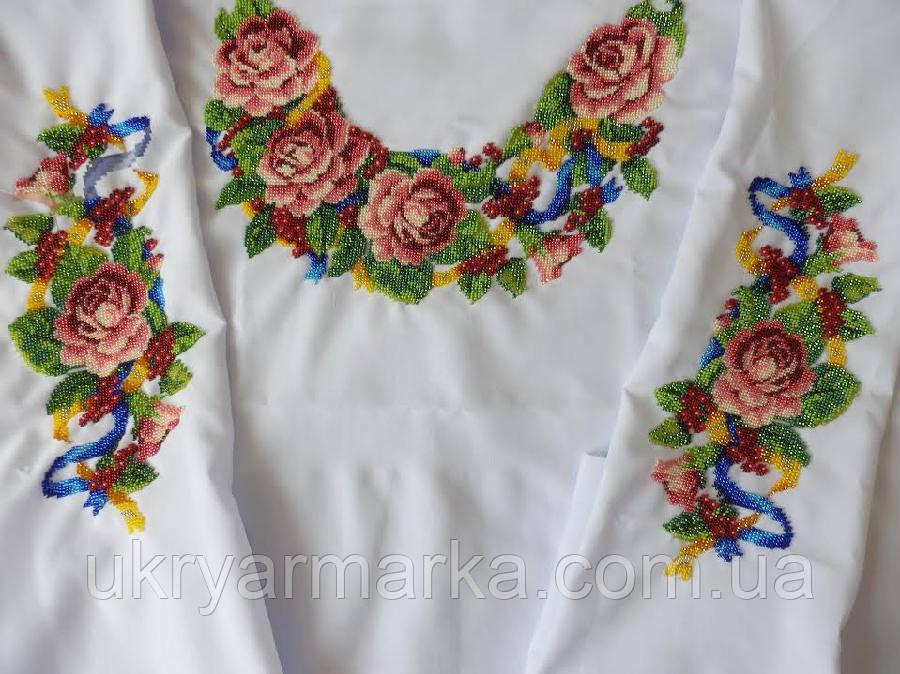 Вишита блузка (бісер) не зшита