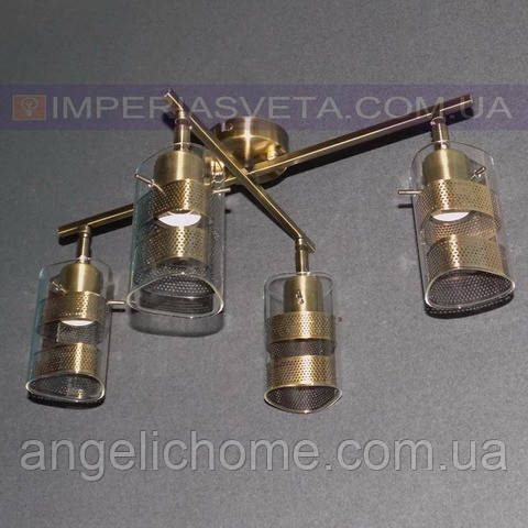 Люстра спот направляемая IMPERIA четырехламповая LUX-454411