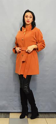 Пальто терракотовое ICON 9202, фото 2