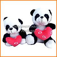 Мягкая игрушка Панда с сердцем (21см) №26505
