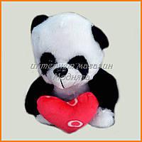 Мягкая игрушка Панда с сердцем (25см) №26504