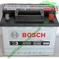 "Аккумулятор Bosch S3 56Ah, EN 480 правый ""+"" 242х175х190 (ДхШхВ) BOSCH 0 092 S30 050"