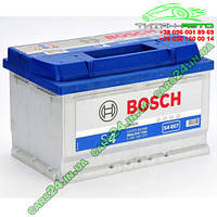"Аккумулятор Bosch (низкий) S4 Silver 72Ah, EN 680 правый ""+"" 278х175х175 (ДхШхВ) BOSCH 0 092 S40 070"