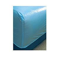 Наматрасник одноразовый полиэтиленовый на кровать 210х90 см