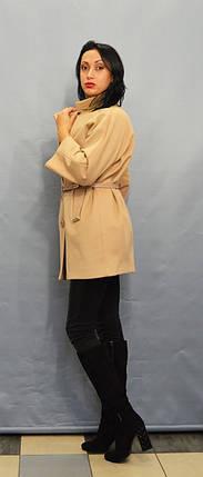 Женское бежевое пальто ICON 9229, фото 2
