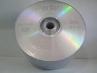 DVD-R диски для видео Perfeo 16x Bulk/50