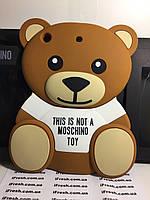 Чехол накладка медведь MOSCHINO для iPad MINI 1/2/3, мишка MOSCHINO