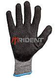 Перчатки с рифленым латексом TRIDENT