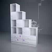 """Стеллаж - перегородка с ящиками """"Колокольчики"""", фото 1"""