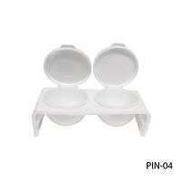 Посуда для жидкости (мономера) двойная с крышкой