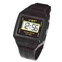 Часы наручные VST 7003 говорящие, с будильником