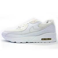 Белые женские кроссовки Nike air max 90 (Найк Аир макс) р.(38, 39, 41)