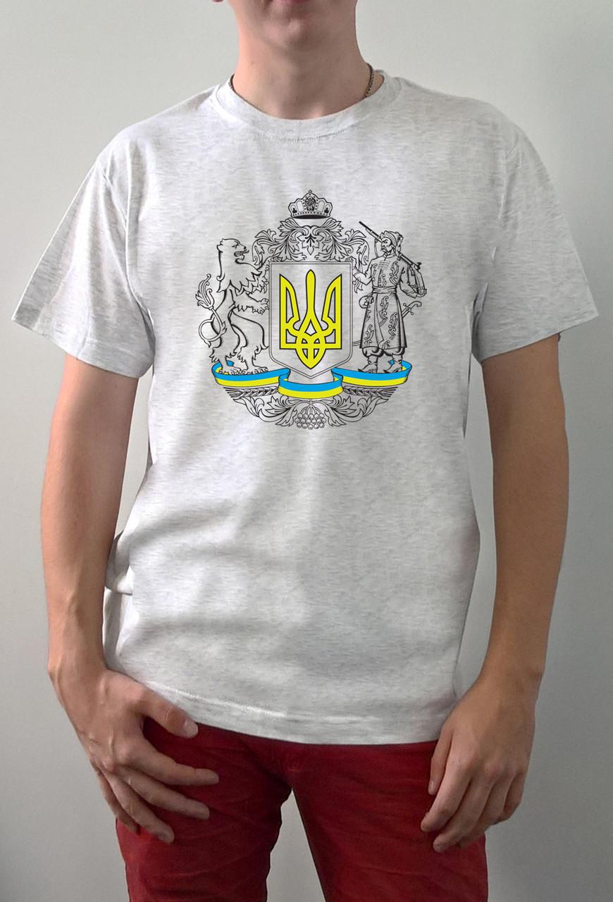 "Мужская футболка ""Герб Украина"""