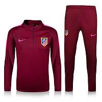 Спортивный костюм Nike, Атлетико Мадрид. Футбольный, тренировочный. Сезон 16/17
