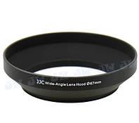 Бленда JJC LN-67W (Ø67mm Wide Angle Lens Hood) Metal (for Nikon), фото 1