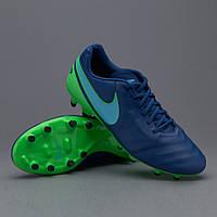 Бутсы Nike Tiempo Genio II Leather FG 819213-443
