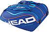 Надежная сумка-чехол для большого тенниса на 12 ракеток 283216 Tour Team 12R Monstercombi BLBL HEAD