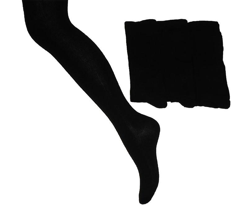 Колготи KBS  №13  4-10001 однот.чорні