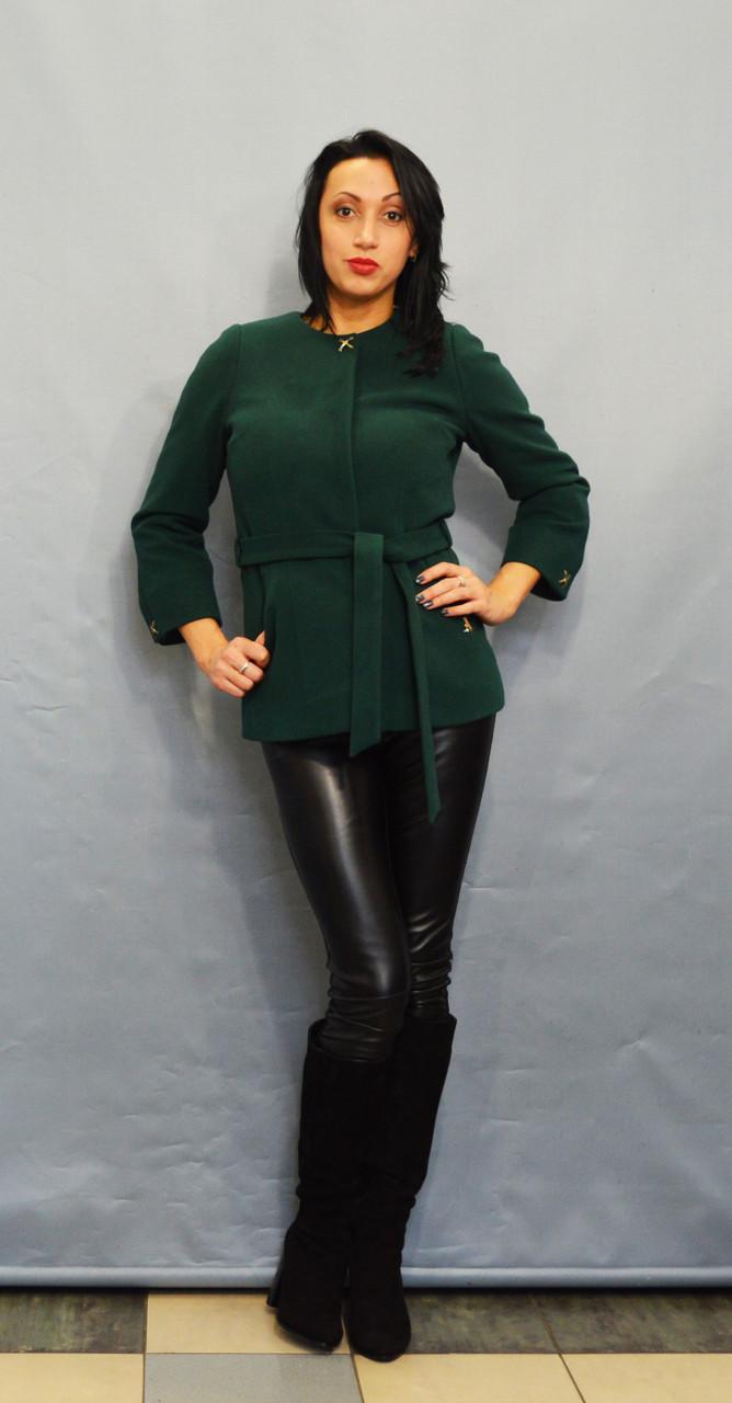 Зеленое пальто ICON 9208