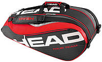 Вместительная сумка-чехол для большого тенниса на 9 ракеток 283226 Tour Team 9R Supercombi  BKRD HEAD