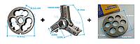Комплект полуунгер R70 с решеткой 16 мм + нож со сменными лезвиями