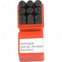 Клейма штамповочные цифровые арабские Partner 6мм PA6855-6