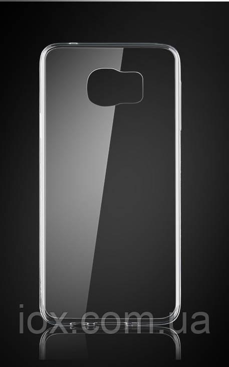 Чехол прозрачный силиконовый для Samsung Galaxy S7edge