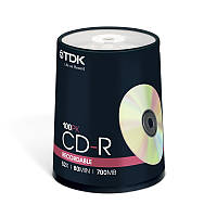 TDK CD-R 700 MB 52x, Cake box/100