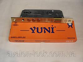 Врезной замок Yuni 2012.45mm 3MR для деревянных и металлических дверей