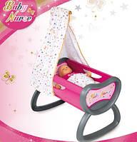 Кроватка для кукол Baby Nurse Smoby 220311